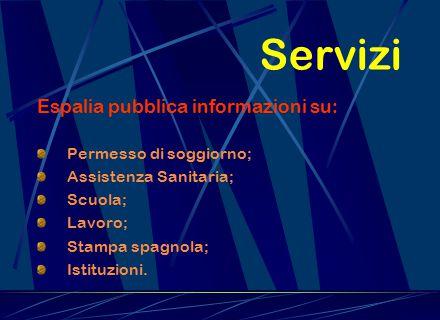 Obiettivi Siamo orientati verso la creazione di un strumento di coesione tra le coppie miste Italo- Spagnole che vivono sul territorio italiano. Espal