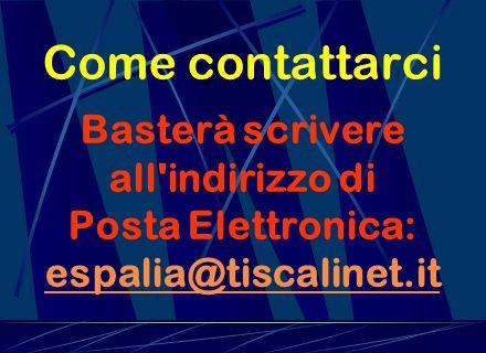 Profilo del Web http://web.tiscali.it/espalia è uno spazio virtuale dedicato alle coppie Italo-Spagnole sul quale è possibile condividere informazioni raccolte dalle stesse coppie.