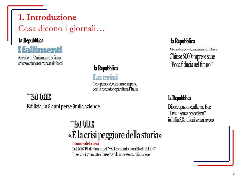 1. Introduzione Cosa dicono i giornali… 3