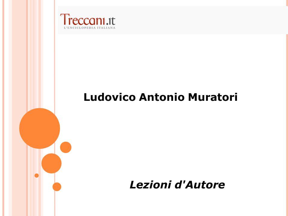 Ludovico Antonio Muratori Lezioni d'Autore