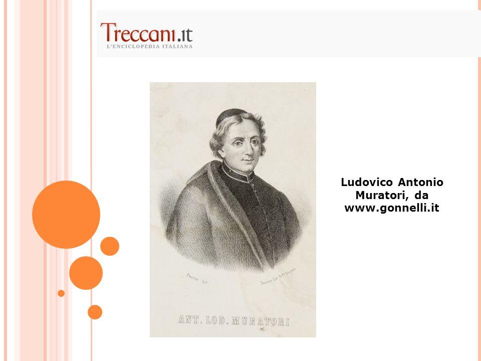 Ludovico Antonio Muratori, da www.gonnelli.it
