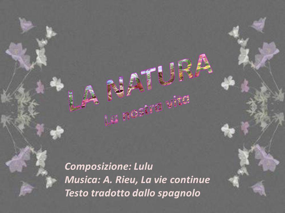 Oasi di NINFA Sermoneta (Latina) Composizione: Lulu Musica: A.