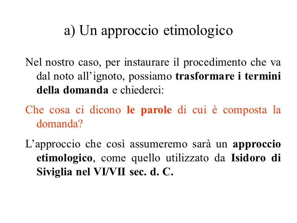 Il philèin (4) Il rigore dell argomentare filosofico richiede che l affermazione sia suffragata da una prova logica.