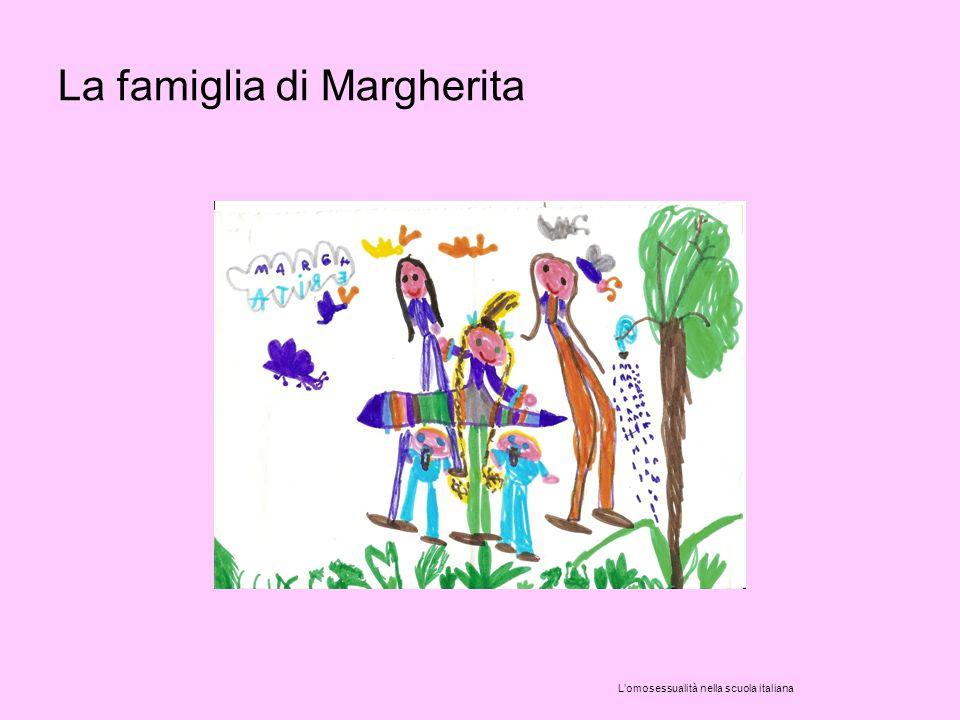 La famiglia di Margherita L'omosessualità nella scuola italiana