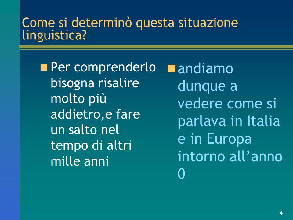 5 situazione politica dell'Europa e dell'Italia intorno all'anno 14 d.C, alla morte di Augusto