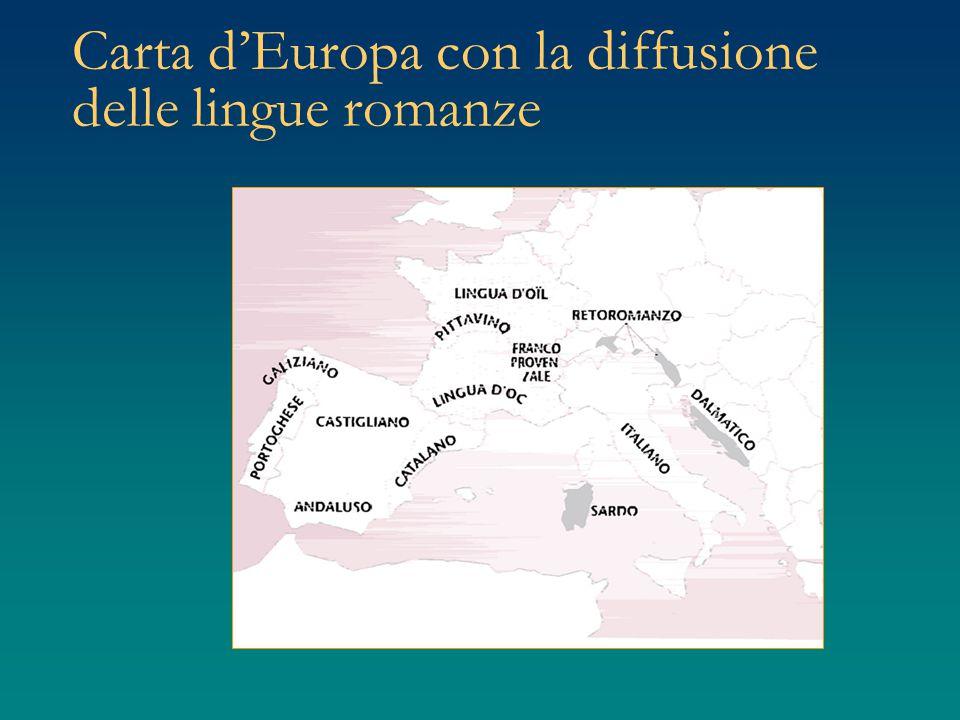 Area romanza: coperta dalla diffusione del latino Latino: lingua indoeuropea Romanizzazione e fenomeni di stratificazione linguistica Variabilità linguistica tempo spazio Realtà sociali Diversità di funzioni