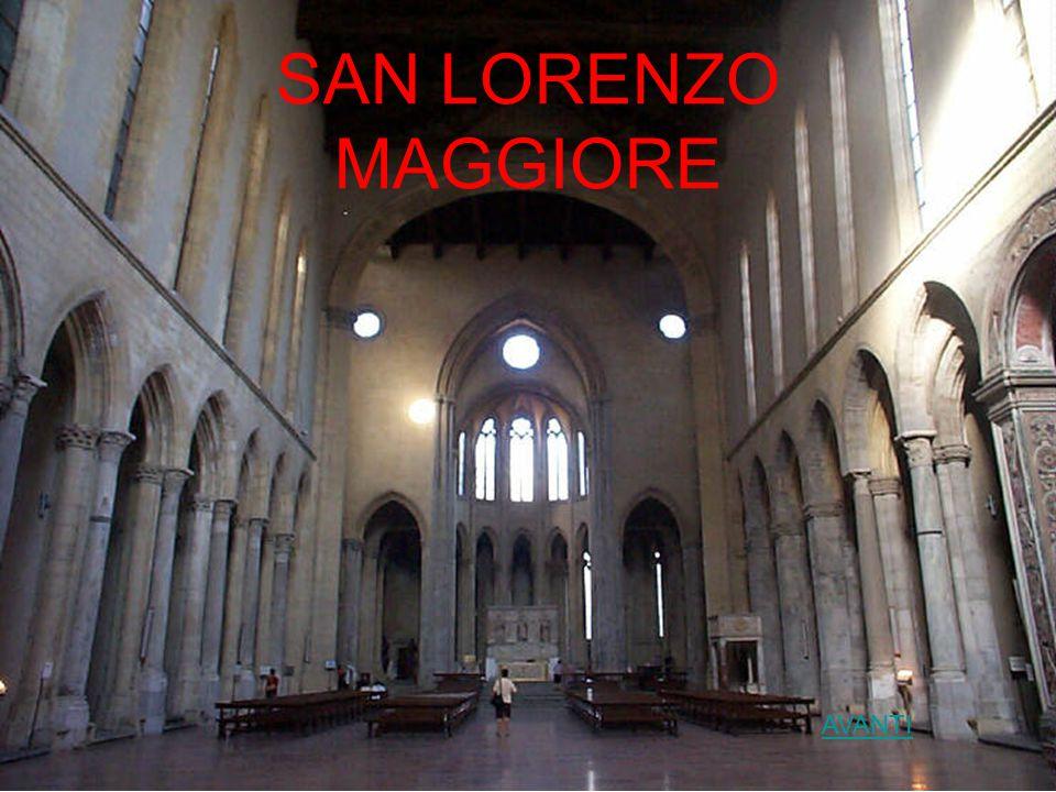 Basilica di San Lorenzo Maggiore La basilica di San Lorenzo Maggiore è una delle più antiche di Napoli.