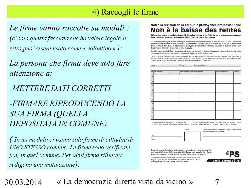 30.03.2014 « La democrazia diretta vista da vicino » 38 2002 – iniziativa popolare per passare al coefficente fiscale 100.