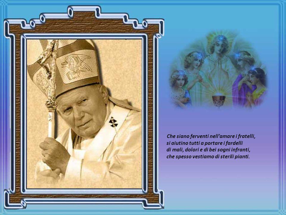 Il Papa più grande hanno detto di Te, il Papa di molti ed anche di me, quindi Ti chiedo : con quella Tua gioia invita la gente a non sopirsi alla noia!