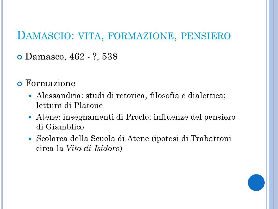 S CALA NEOPLATONICA DELLE VIRTÙ Introdotta da Plotino nel trattato Sulle virtù (Enneadi, I,2 ) Formalizzata da Porfirio nelle Sentenze ( cap.
