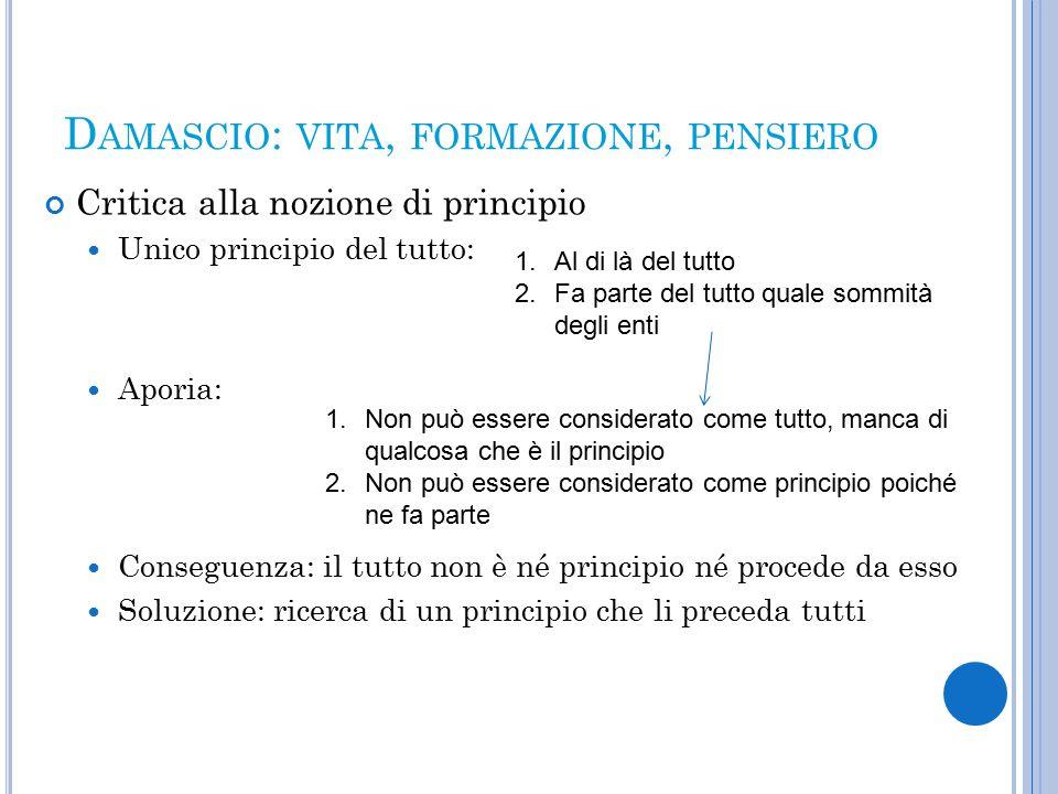 C ONCLUSIONI Interpretazione della Vita di Isidoro come (…)the story of pagan decline, of persecution, resistance, betrayal, compromise and collaboration