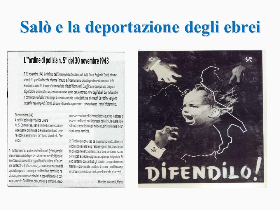 Il Il campo di polizia e di transito di Fossoli, in provincia di Modena, è stato il principale luogo utilizzato per il trasferimento dei deportati politici e razziali italiani verso i campi di concentramento e di sterminio nazisti.