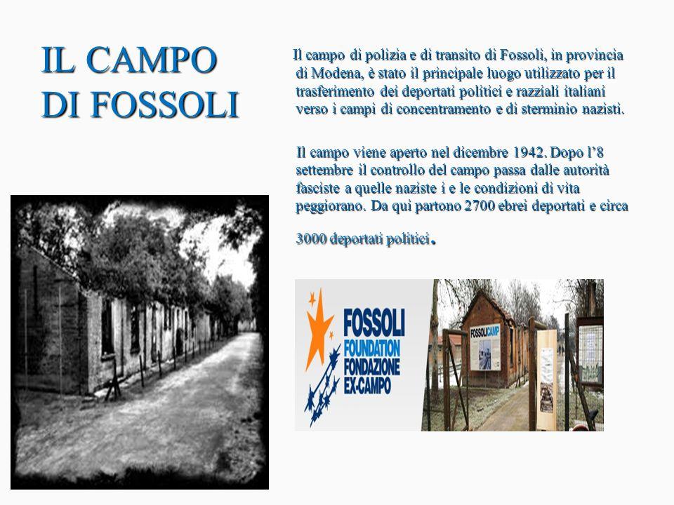 Un viaggio per molti senza ritorno Un viaggio per molti senza ritorno La destinazione principale delle deportazioni dall Italia, come dal resto d Europa, fu il campo di Auschwitz.