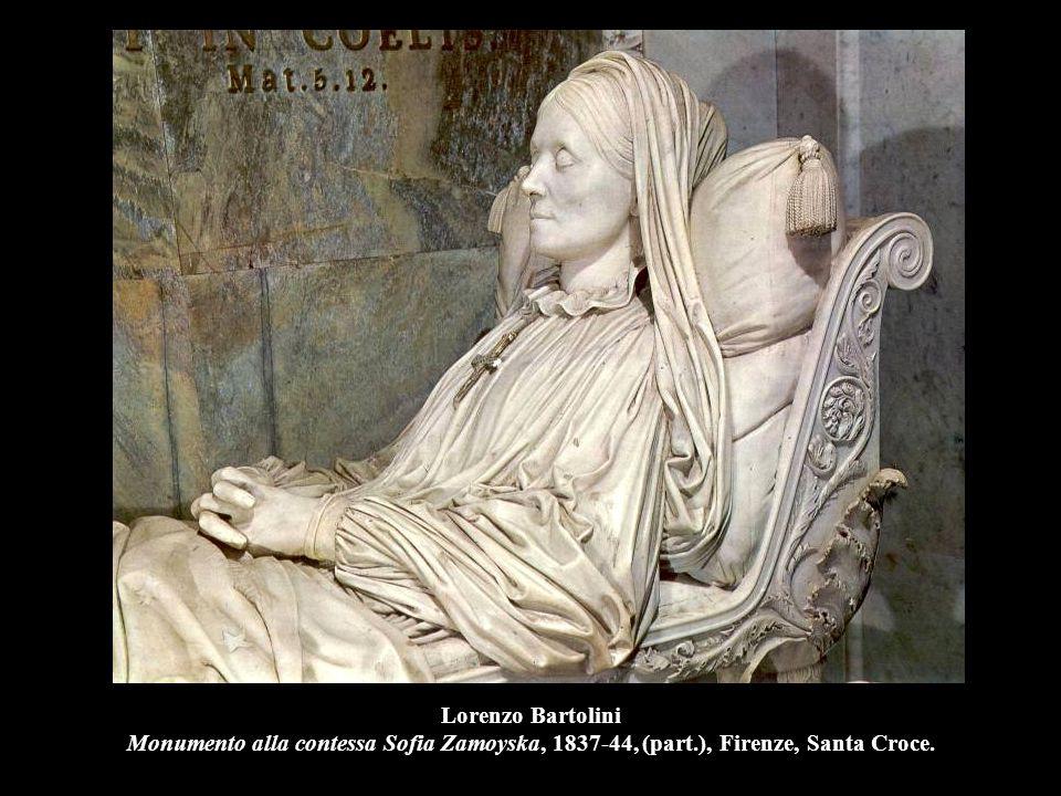Alessandro Puttinati Paolo e Francesca, 1844, marmo, h. 200 cm., Milano, GAM.