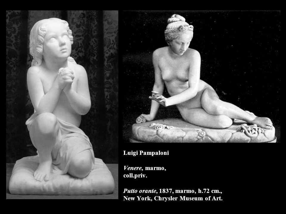 Giovanni Duprè La pietà, 1862, marmo, l.