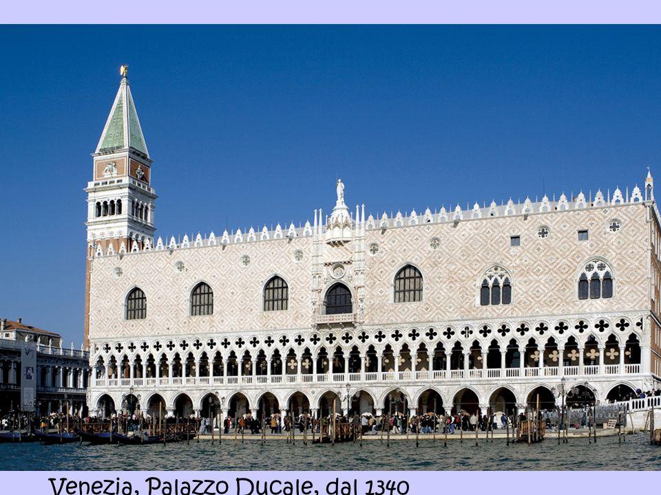 Venezia, Palazzo Ducale, dal 1340