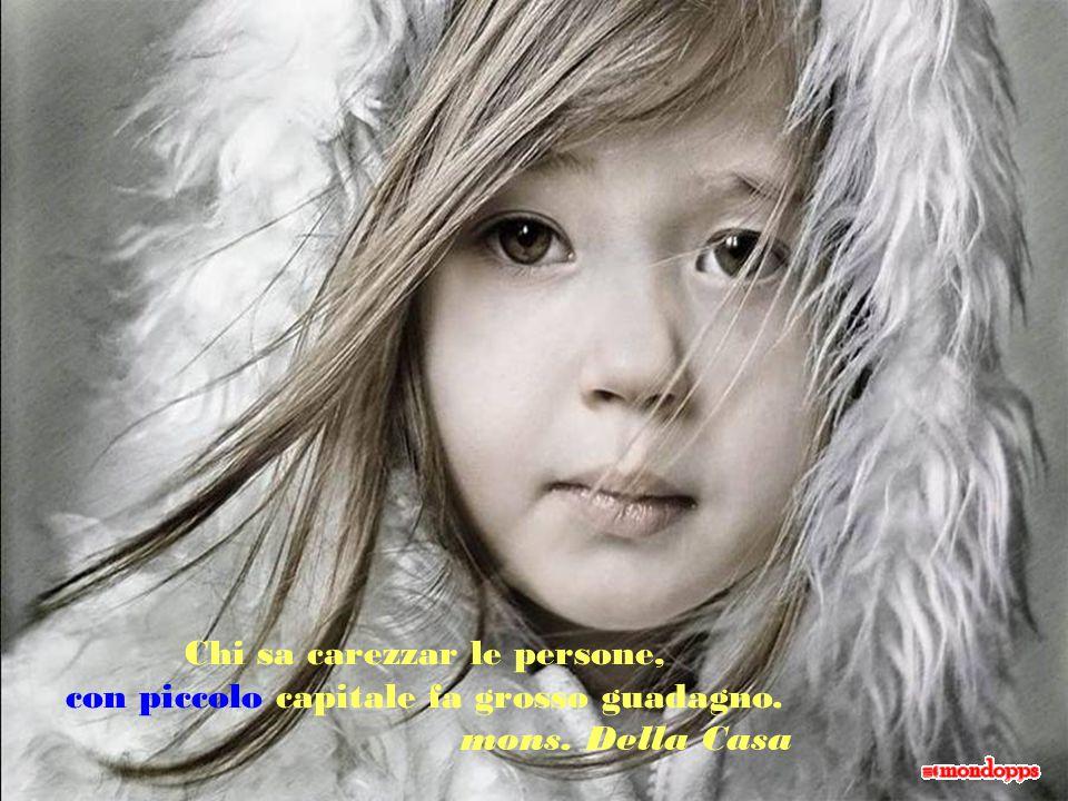 In ciascuno di noi ci sono tre persone: quella che vedono gli altri; quella che vediamo noi; quella che vede Dio. M. de Unamuno