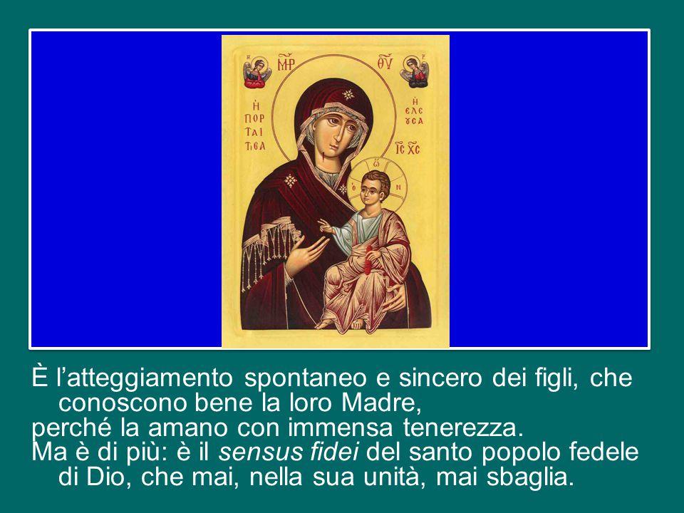 Si racconta che gli abitanti di Efeso, durante il Concilio, si radunassero ai lati della porta della basilica dove si riunivano i Vescovi e gridassero: «Madre di Dio!».