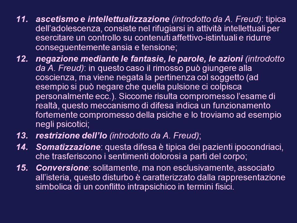 11.ascetismo e intellettualizzazione (introdotto da A.
