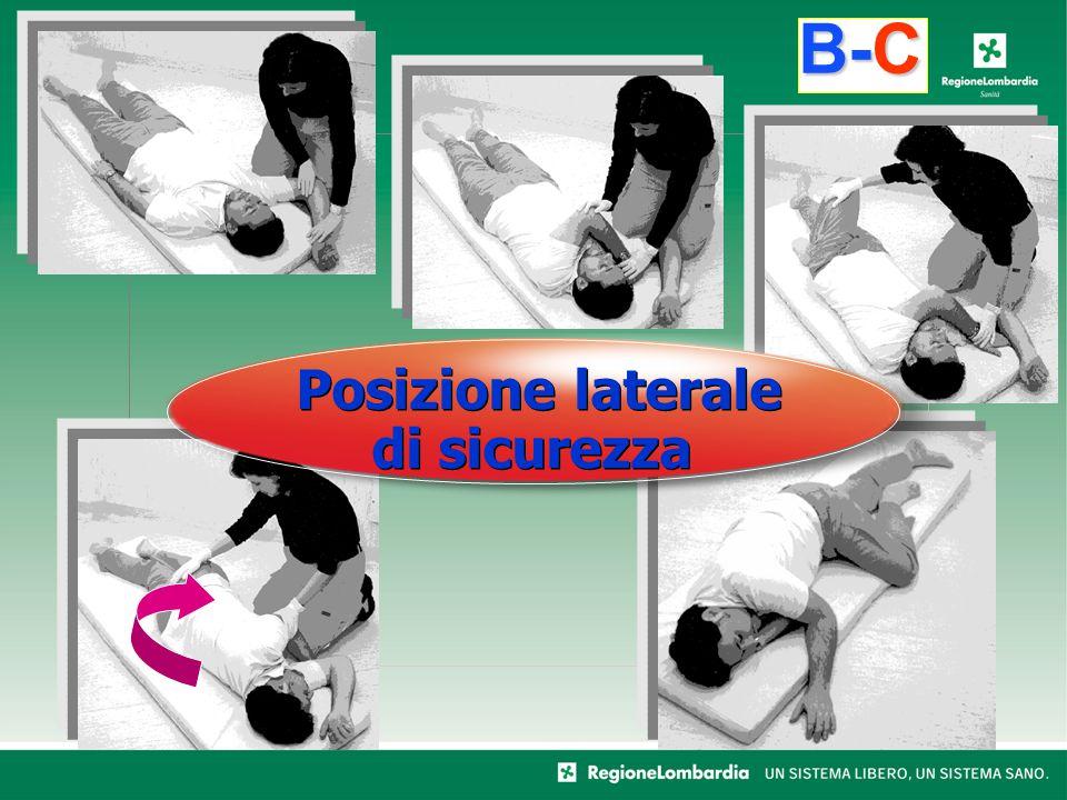 B-C Posizione laterale di sicurezza
