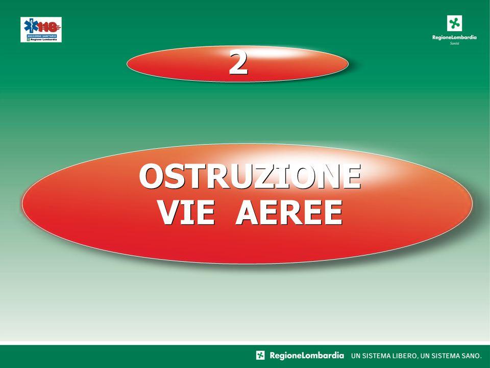 OSTRUZIONE VIE AEREE OSTRUZIONE VIE AEREE 2 2
