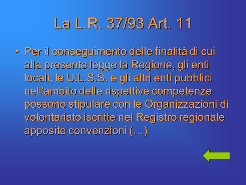 La L.R. 37/93 Art.