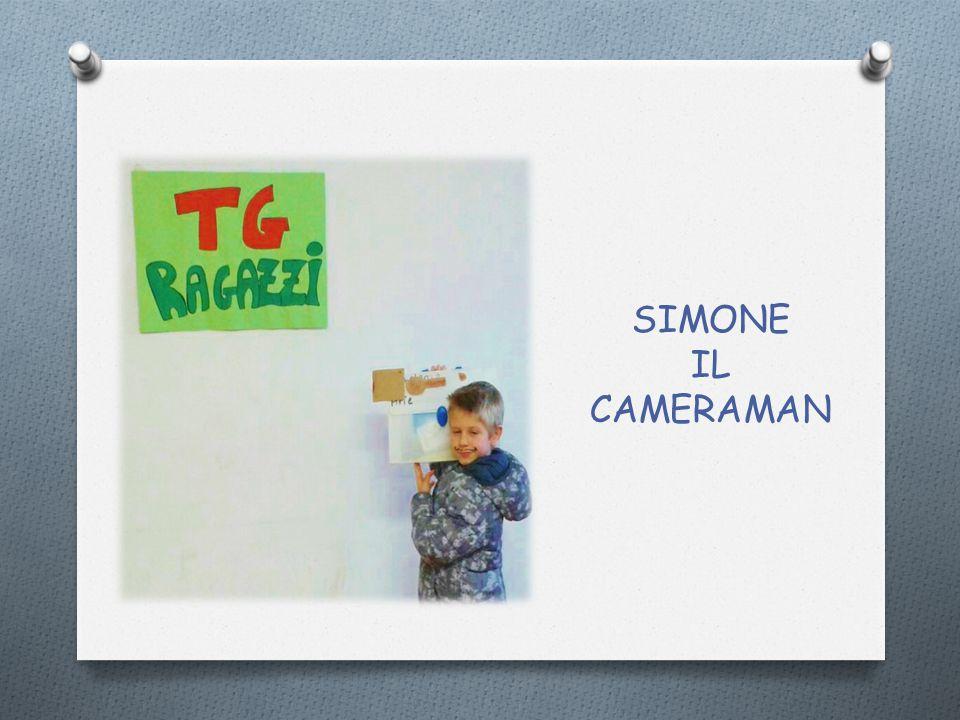 SIMONE IL CAMERAMAN