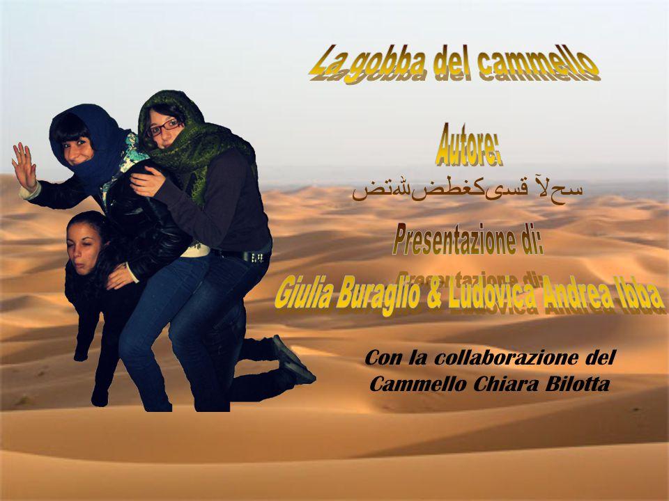 Con la collaborazione del Cammello Chiara Bilotta قسىكغطضﷲﺗﺽ ﺴﺢﻵ