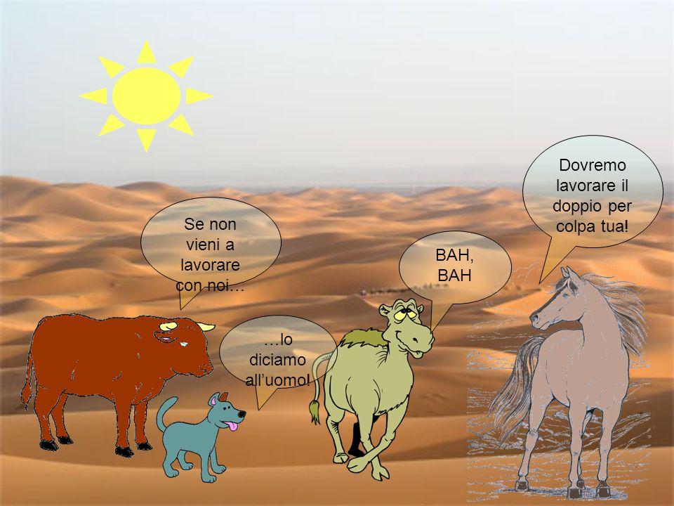 i Tre si riunirono al confine del Deserto a congiurare.