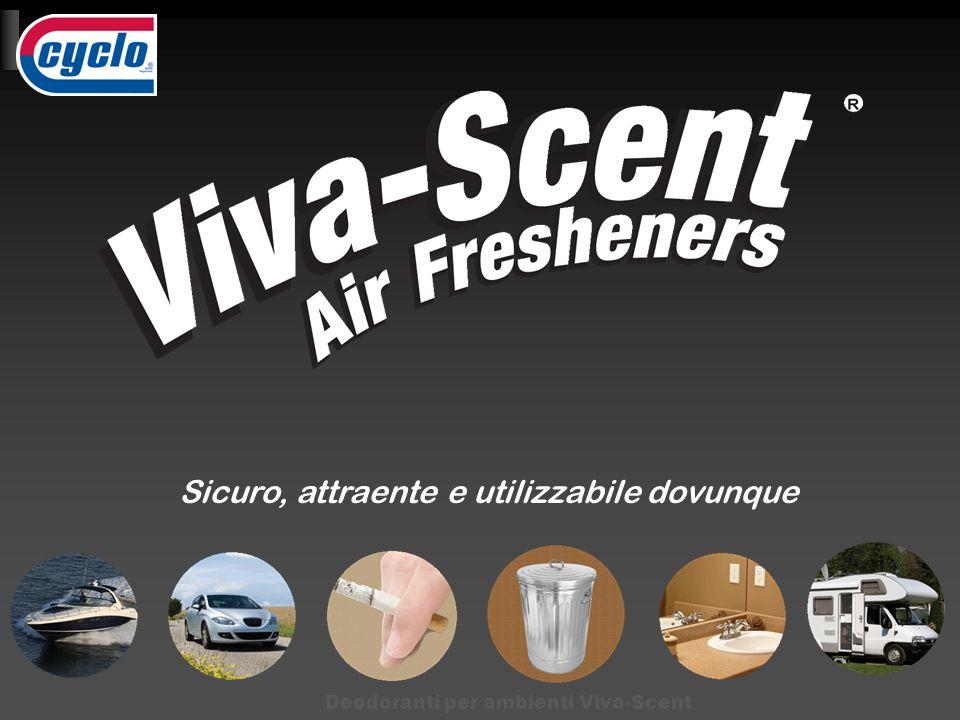 Sicuro, attraente e utilizzabile dovunque Deodoranti per ambienti Viva-Scent