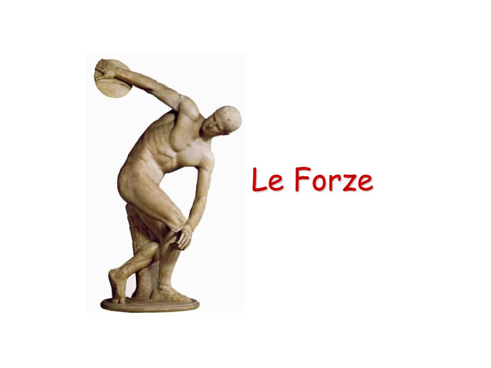 Un corpo appoggiato su un piano è in equilibrio solo se la verticale passante per il baricentro cade all'interno della base di appoggio.