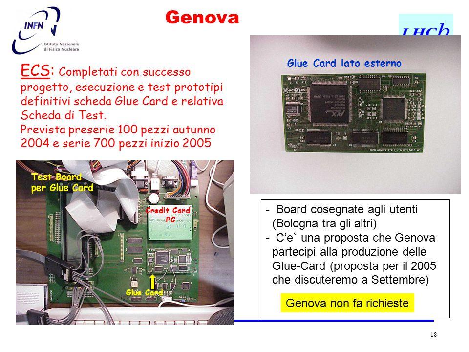 18 - Board cosegnate agli utenti (Bologna tra gli altri) - C'e` una proposta che Genova partecipi alla produzione delle Glue-Card (proposta per il 200
