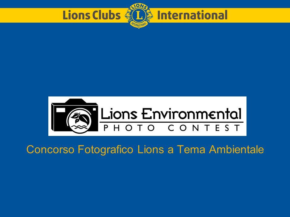 Concorso Fotografico Lions a Tema Ambientale