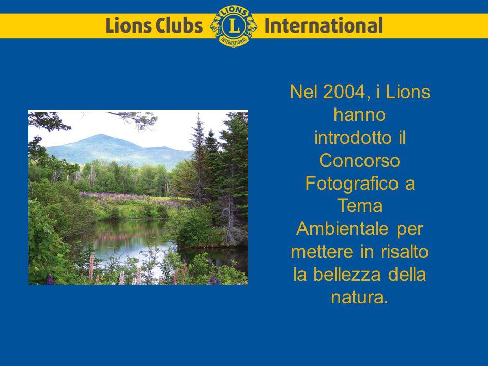 Nel 2004, i Lions hanno introdotto il Concorso Fotografico a Tema Ambientale per mettere in risalto la bellezza della natura.