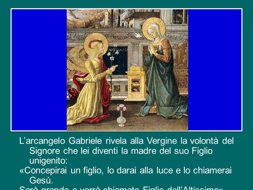 Oggi, quarta e ultima Domenica di Avvento, la liturgia vuole prepararci al Natale ormai alle porte invitandoci a meditare il racconto dell'annuncio dell'Angelo a Maria.