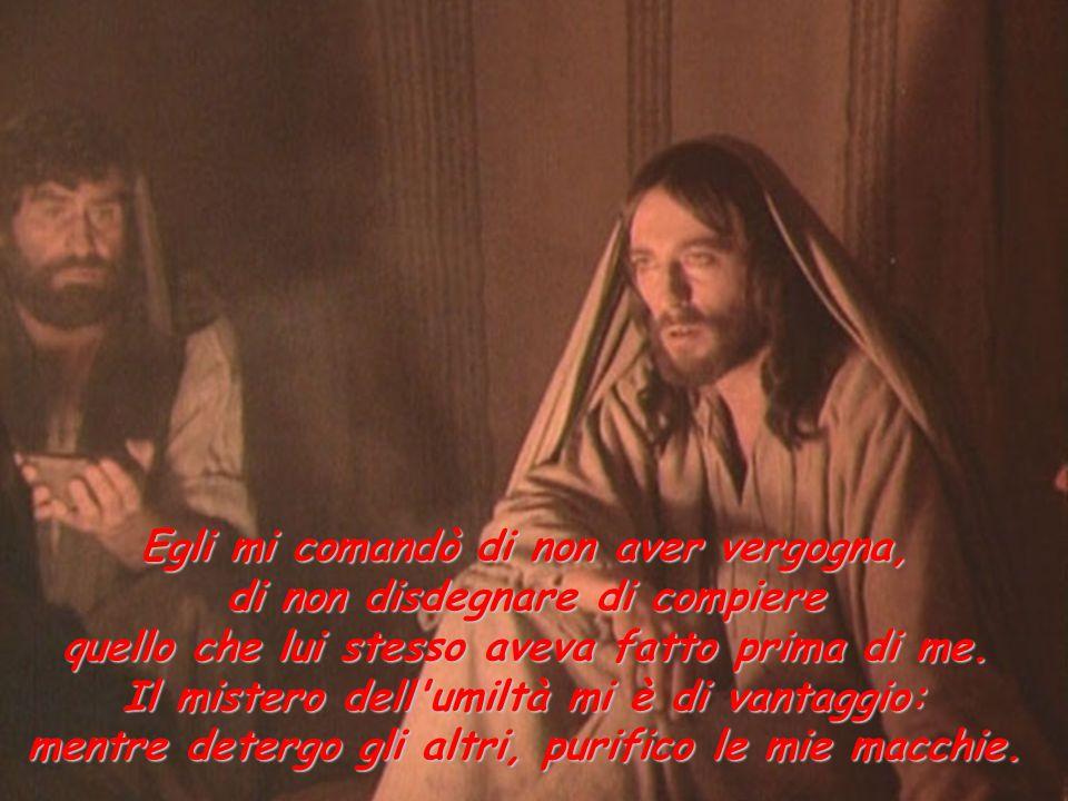 Partirai solo, Signore, senza di noi, tuoi amici, per affrontare la lotta suprema del nemico.
