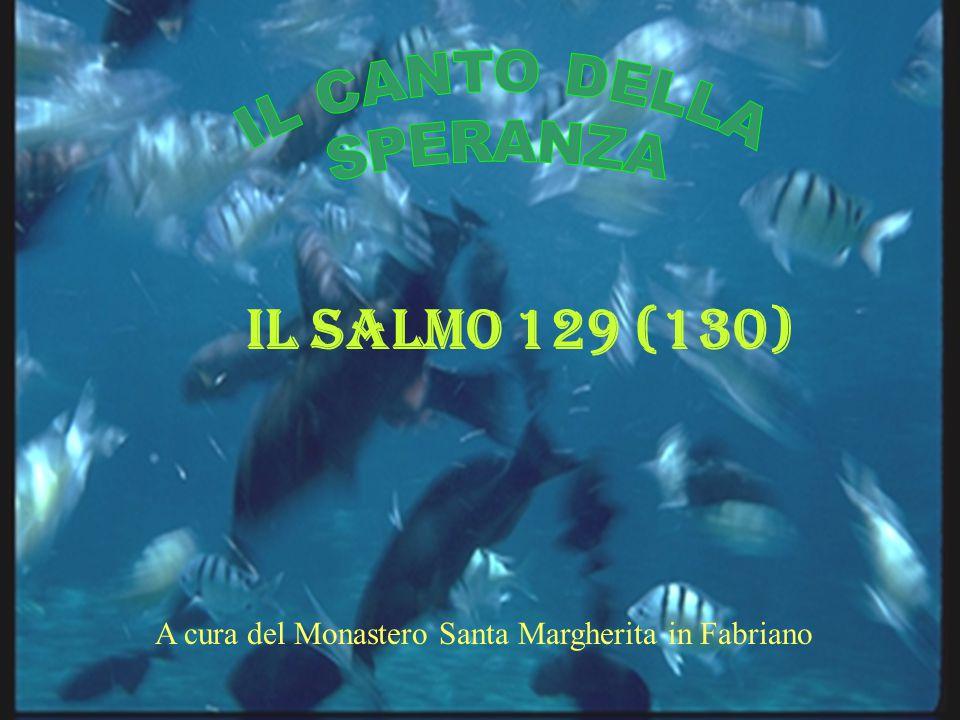 Il Salmo 129 (130) A cura del Monastero Santa Margherita in Fabriano