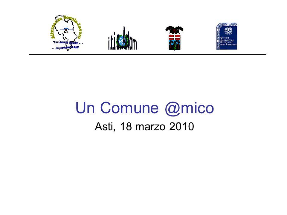 Un Comune @mico Asti, 18 marzo 2010