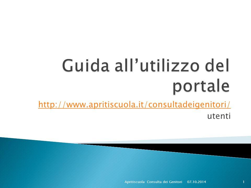 http://www.apritiscuola.it/consultadeigenitori/ utenti 07.10.2014Apritiscuola Consulta dei Genitori1