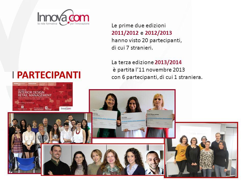 Le prime due edizioni 2011/2012 e 2012/2013 hanno visto 20 partecipanti, di cui 7 stranieri.