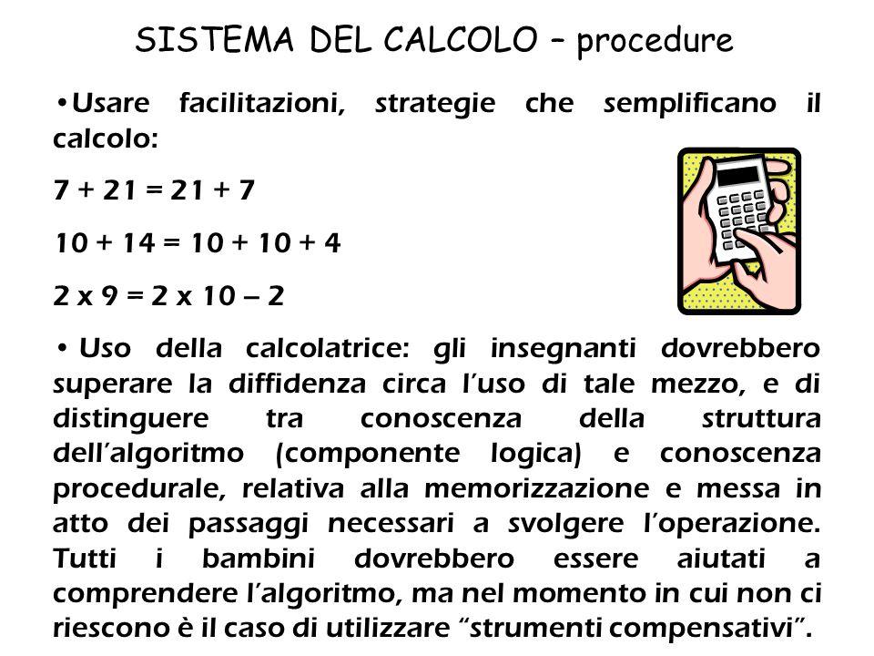 SISTEMA DEL CALCOLO – elaborazione degli operatori aritmetici 48 …………………………….61 51 …………………………….54 84…………………………….45 67 ……………………………67 Completa con il si