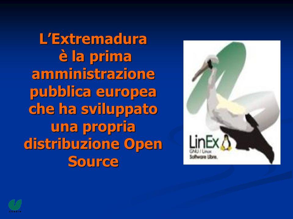 L'Extremadura è la prima amministrazione pubblica europea che ha sviluppato una propria distribuzione Open Source