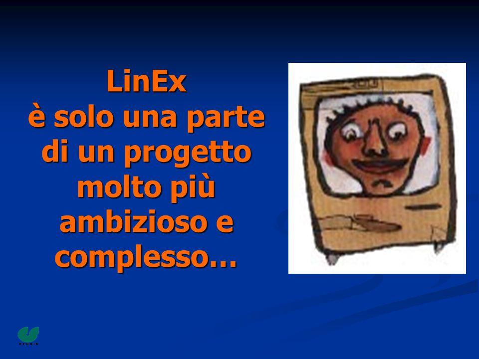 LinEx è solo una parte di un progetto molto più ambizioso e complesso…