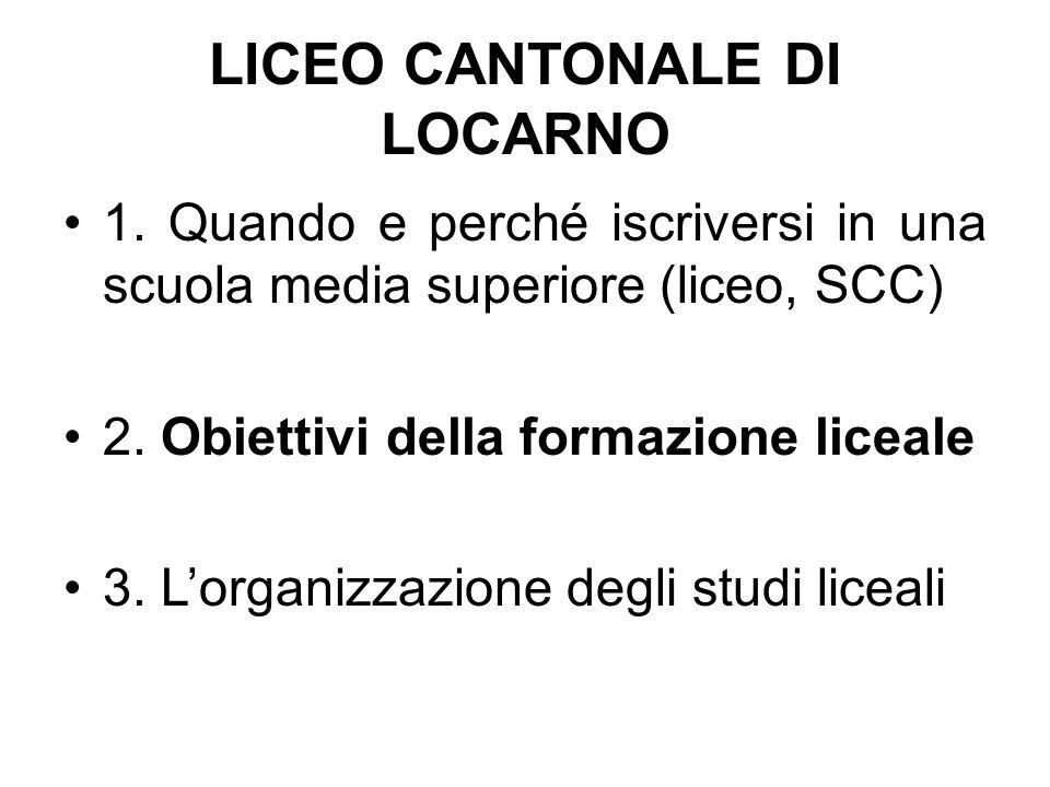 LICEO CANTONALE DI LOCARNO 1.