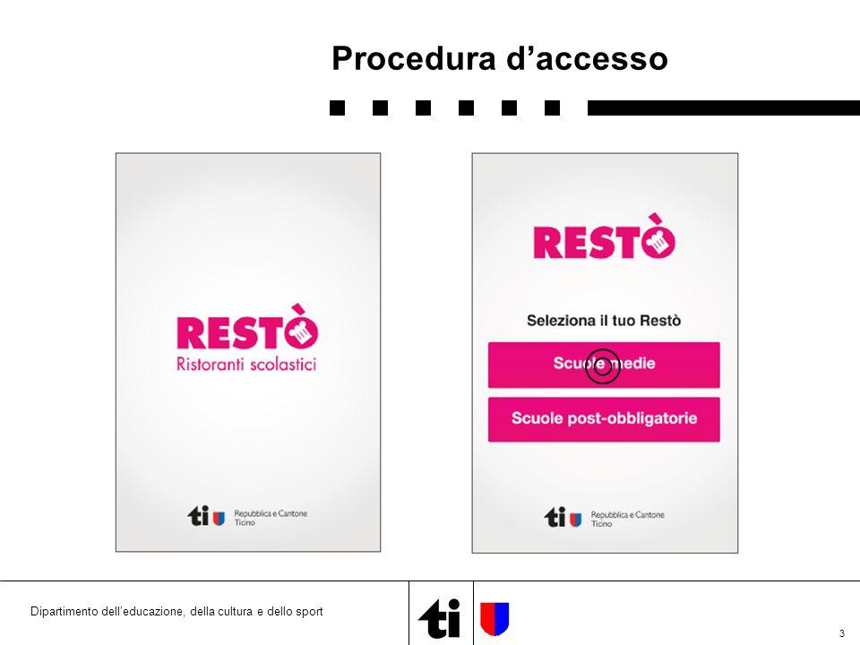 4 Procedura di accesso (1)
