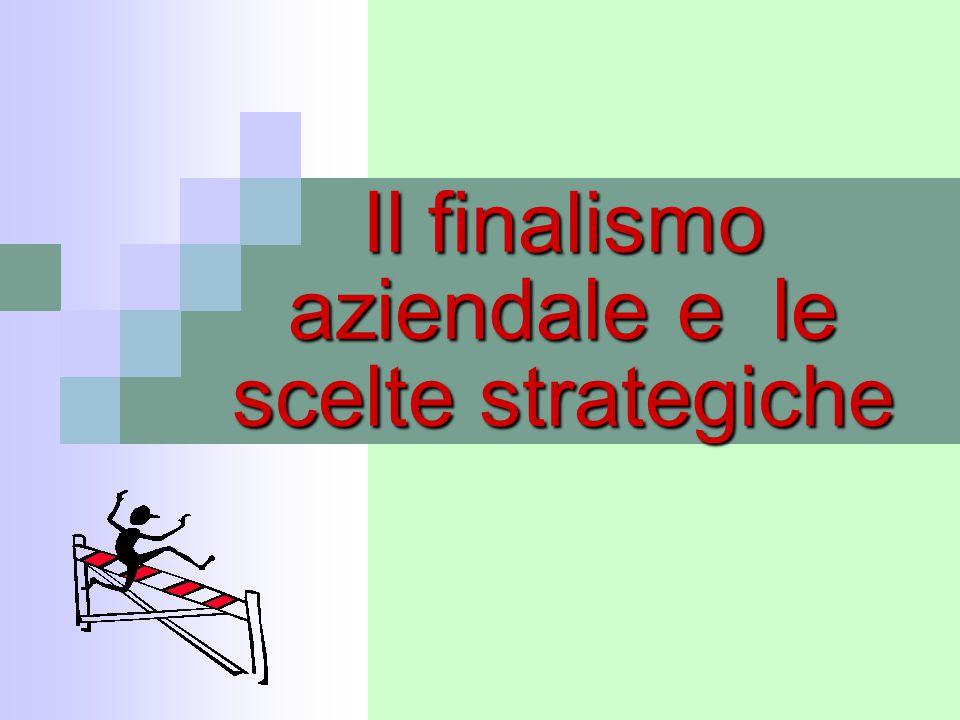 32Corso di Economia Aziendale 32 La classificazione delle strategie Le strategie competitive di tipo corporate: la matrice BCG