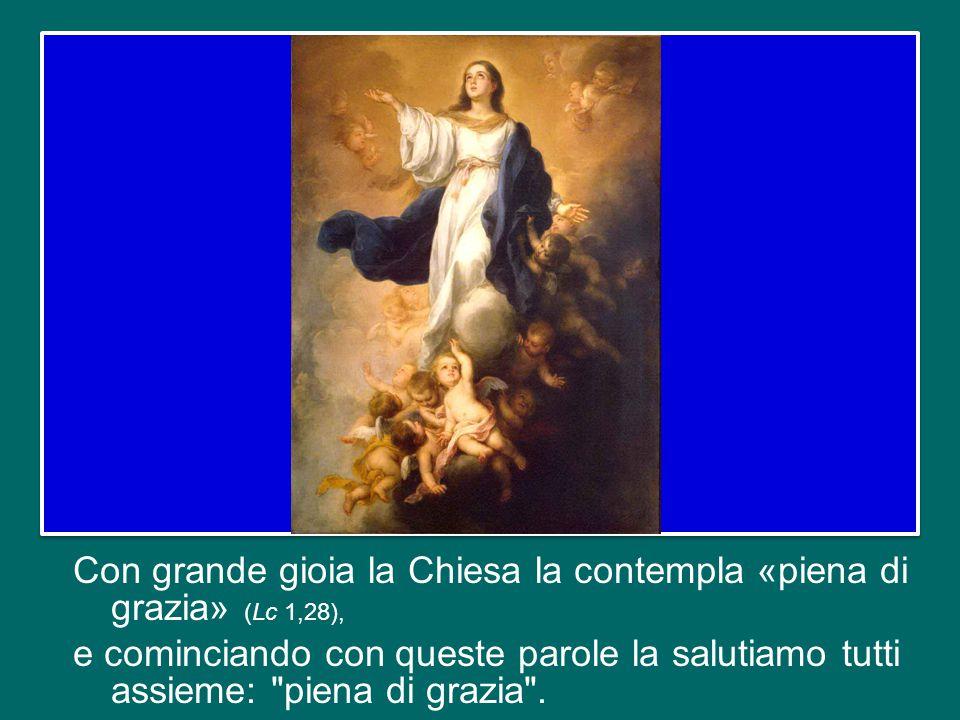 questa seconda domenica di Avvento cade nel giorno della festa dell'Immacolata Concezione di Maria, e allora il nostro sguardo è attratto dalla bellezza della Madre di Gesù, la nostra Madre!