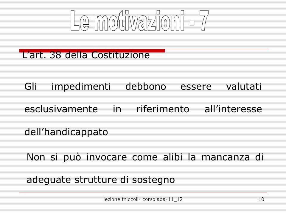 lezione fniccoli- corso ada-11_1210 L'art.