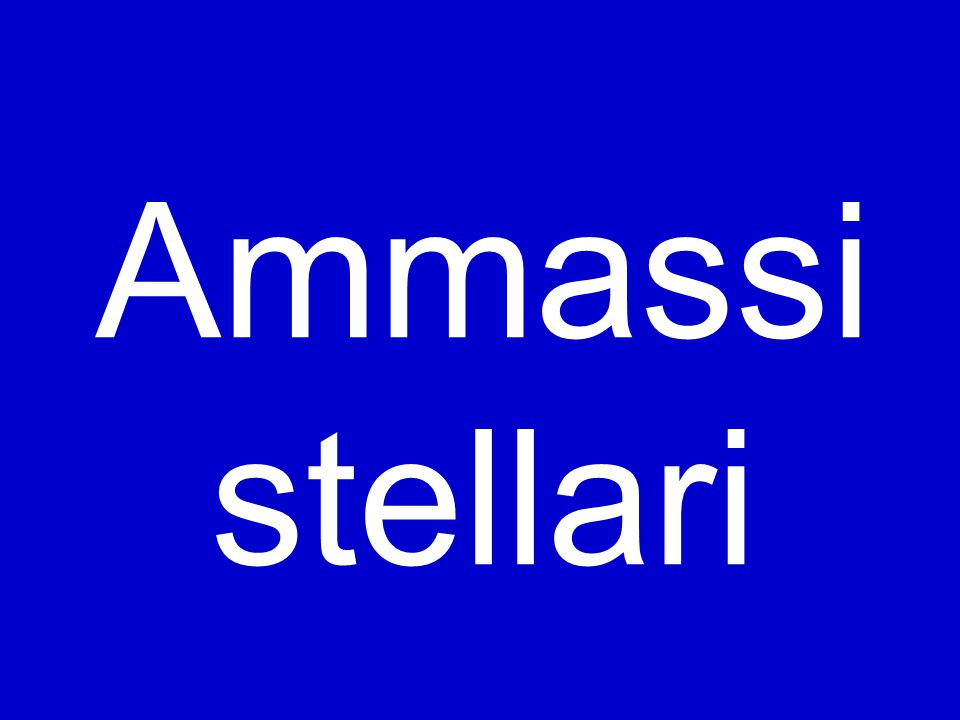 Ammassi stellari