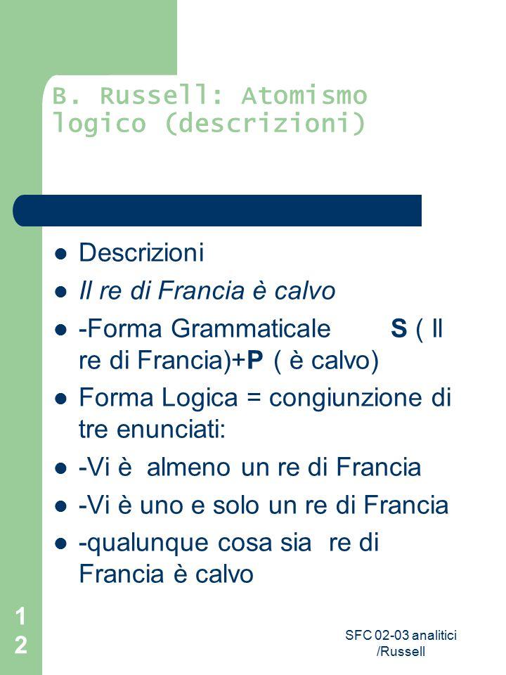 SFC 02-03 analitici /Russell 12 B.